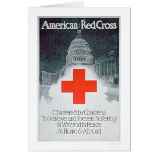 Red Cross Chartered by Congress (US00297) Greeting Card