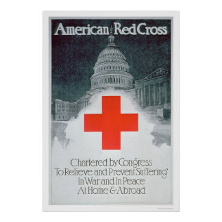 Red Cross Chartered by Congress (US00297) Posters