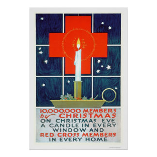 Red Cross Christmas Recruiting Poster (US00206)