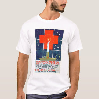 Red Cross Christmas Recruiting Poster (US00206) T-Shirt