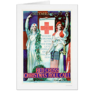 Red Cross Christmas Roll Call (US00205) Greeting Card
