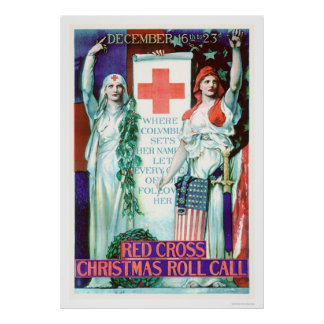 Red Cross Christmas Roll Call (US00205) Poster