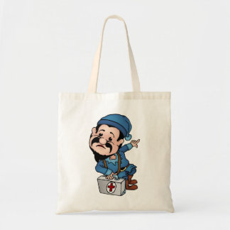 Red Cross Dwarf Tote Bag