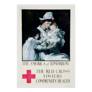 Red Cross Fosters Community Health (US00020A) Poster