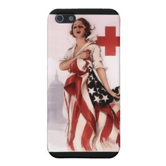 Red Cross Girl ~ World War I Poster ~ 1917 iPhone 5/5S Case