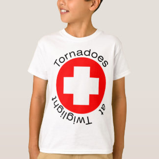 RED CROSS HERE T-Shirt