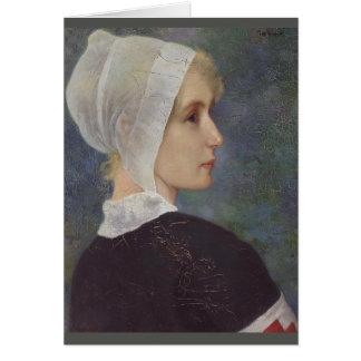 Red Cross Nurse by Theodor Grust Card