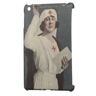 Red Cross Nurse Cover For The iPad Mini