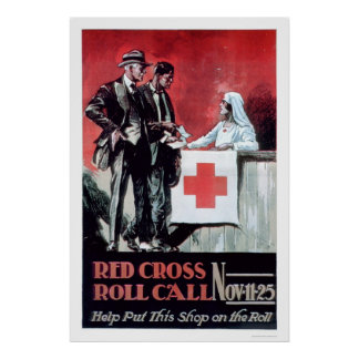 Red Cross Roll Call (US00203) Poster