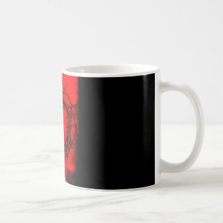 Red Crown of Thorns Coffee Mug