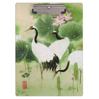 Red-crowned Crane Clipboard