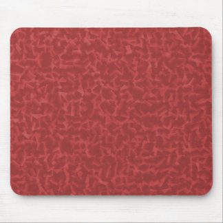 Red Cubed Mouse Pad