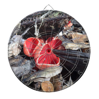 Red Cup Fungus Dartboard