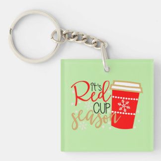 Red Cup Season Key-Chain Key Ring
