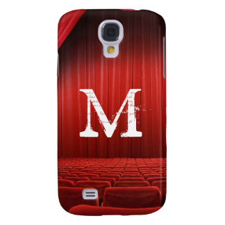 Red Curtain Theater Monogram Samsung Galaxy S4 Samsung Galaxy S4 Cover