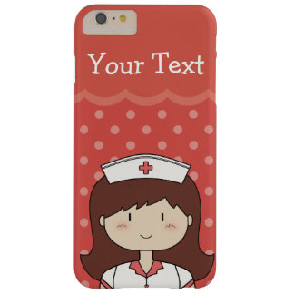 Red Custom Text Happy Nurse Case