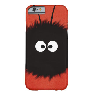 Red Cute Fluffy Dazzled Bug Character Barely There iPhone 6 Case