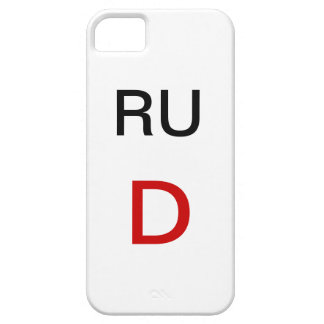 RED D CASE FOR THE iPhone 5