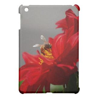 Red Dahlia  iPad Mini Covers