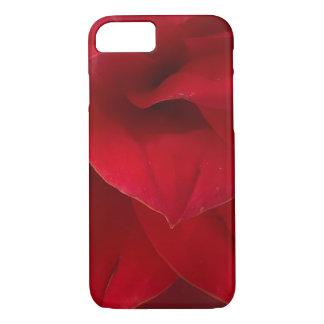 Red Dahlia Soft Petals iPhone 8/7 Case