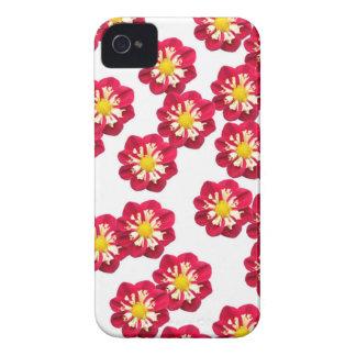 Red dahlias iPhone 4 Case-Mate cases