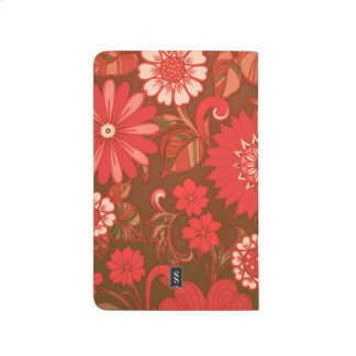 Red Daisy Art Deco Journal