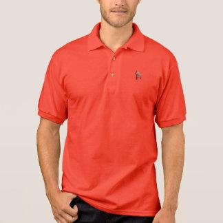 Red Dala Horse Polo Shirt