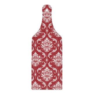 Red Damask Vintage Pattern Cutting Board