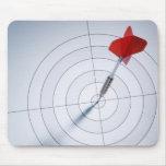 Red Dart Mousepad