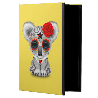 Red Day of the Dead Baby Koala Powis iPad Air 2 Case