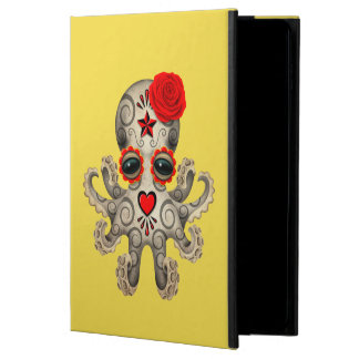 Red Day of the Dead Baby Octopus Powis iPad Air 2 Case