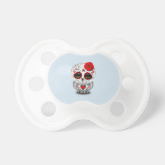 Red Day of the Dead Baby Owl Dummy