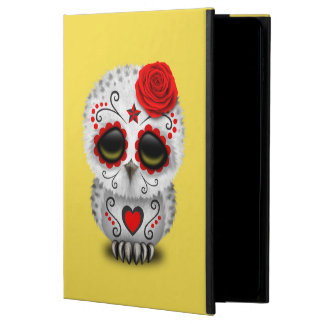 Red Day of the Dead Baby Owl Powis iPad Air 2 Case