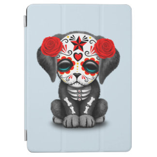 Red Day of the Dead Baby Puppy Dog iPad Air Cover