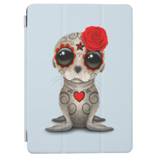 Red Day of the Dead Baby Sea Lion iPad Air Cover