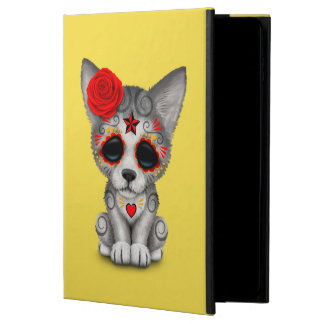 Red Day of the Dead Wolf Cub Powis iPad Air 2 Case