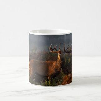 Red Deer at Dawn - Mug