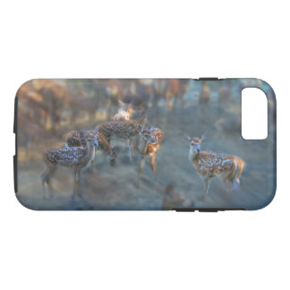 Red Deer Dreams at Dawn Phone case