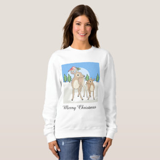 Red deers of Christmas Sweatshirt