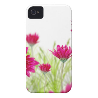 Red Delicate Spring Flowers Iphone 4S Case Case-Mate iPhone 4 Case
