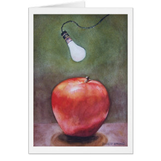 """"""" RED DELICIOUS """" CARD"""