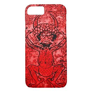 Red Demon art iPhone 7 Case