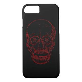 Red Demon Skull iPhone 7 Case