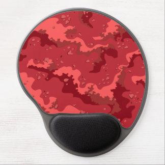 Red Desert Camo Gel Computer Mousepad Gel Mouse Mats