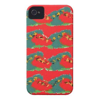Red Design Case-Mate iPhone 4 Case