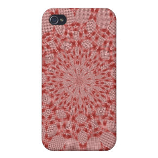 Red Design iPhone 4 Covers