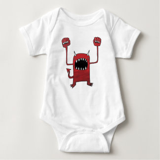 Red Devil Baby Bodysuit