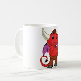Red Devil Bat Mug