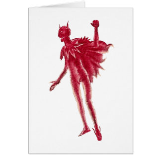 Red Devil Card