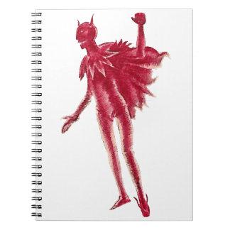 Red Devil Notebook